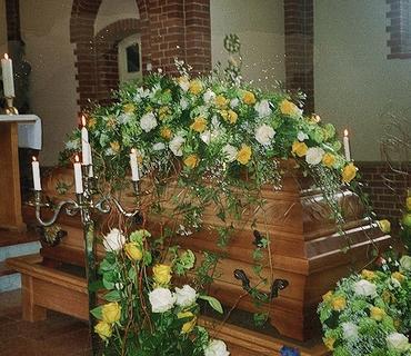 Trauerfloristik - Blumenhaus Gloeden
